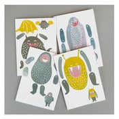 Image of MONSTER PUPPET CARDS by Dear Mingus