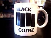 Image of Black Coffee Mug