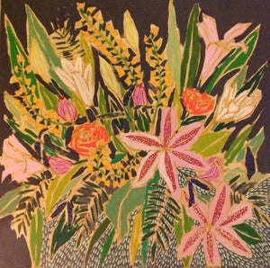 Image of 36x36 Flowers for Pope
