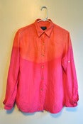 Image of MFD Starburst Sunset Dip-Dye Blouse