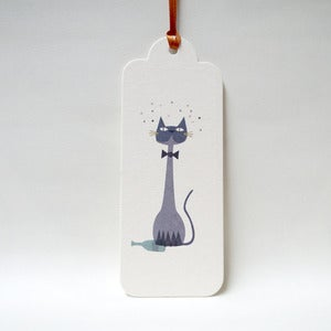 Image of 12 Christmas Kitty Gift Tags