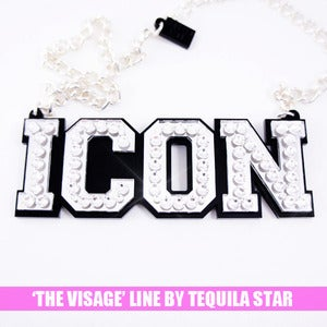 Image of Icon Crystal Necklace