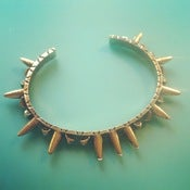 Image of [FEATURED PRODUCT] Gold Spikes Bracelet