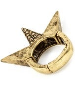 Image of 3 Spike Crystal Ring (Gold or Silver)