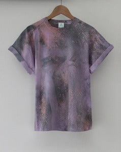 Image of Purple Galaxy Tie Dye Tee
