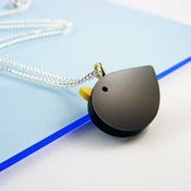 Image of i am acrylic Blackbird Necklace