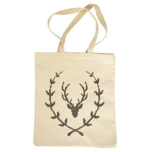 Image of Stag Wreath Bag Kit