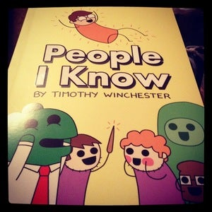 Image of People I Know - the big book and bonus mini comic!