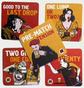 Image of COLLECTOR'S BEER MAT SET