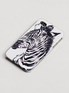 Image of The Zebra iphone case