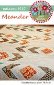 Image of #110 Meander - PDF pattern