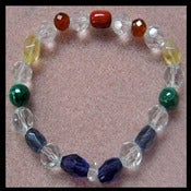 Image of Crystal Pals™ Chakra Energy Bracelet -- Reiki Charged
