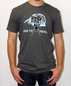 Image of Guys | M-16 Wolf | Sustainable Crew | Gray