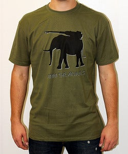 Image of Guys | Iron Tusk | Jersey Tee | Military Green