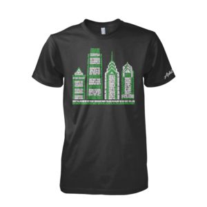 Image of Philly Skyscraper Tee (Black)