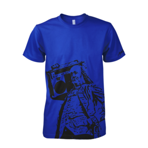 Image of Ben Jammin' Tee (Blue)