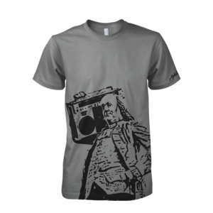 Image of Ben Jammin' Tee (Heather Grey)