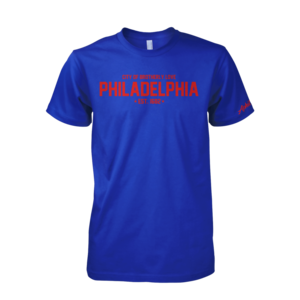 Image of Philadelphia Tee (Royal)