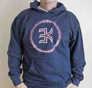 Image of Elektrik Logo Hoodie w/ Tribal Design
