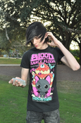 Image of Kawaii black T-Shirt