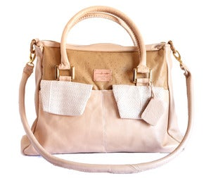 Image of Fagunwa creme royale bag
