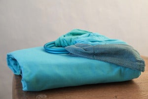 Image of Bära Barn Knot and Ring Shawl - Mint