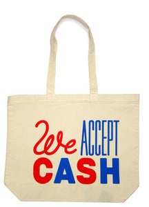 Image of We Accept Cash  Crispin Finn