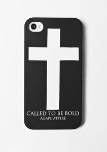 "Image of ""Called to be bold"" iPhone snap case"