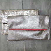 Image of Leather Sac - Silvers