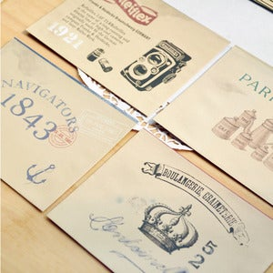 Image of Set Sobres y Cartas Vintage