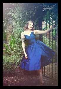 Image of OMH Couture - Alexia Midnight Blue