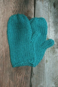 Image of Casco Mitts in Teal