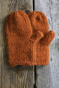 Image of Casco Mitts in Pumpkin