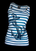 Image of Anchors Aweigh - Black/Wht or Red/Wht or Blue/Wht