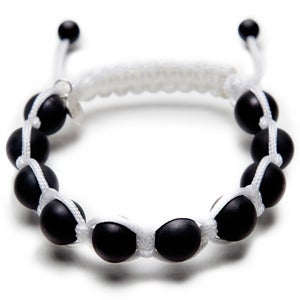Image of White Silk w/ Matte Onyx