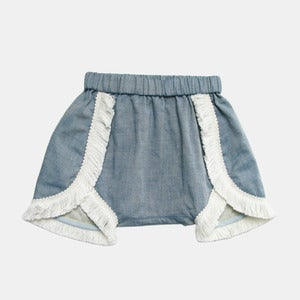 Image of Cooly Shorts - Blue Chambray