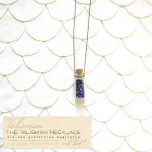Image of Royal Violet Talisman Necklace