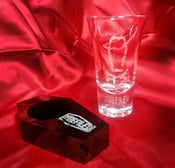 Image of Limited Edition Shot Glass in Coffin Case