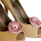 Image of Shoe Clips - Peach Pink
