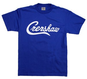 Image of Crenshaw T-Shirt (Royal/White)