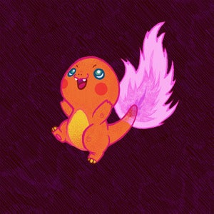 Image of Neon Charmander