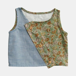 Image of Tabby Crop Top - Prarie