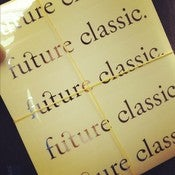 Image of Future Classic Stickers - Silver