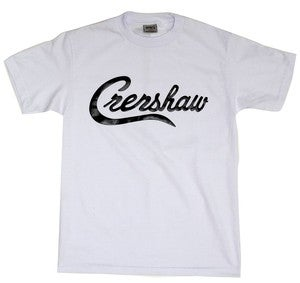 Image of Crenshaw T-Shirt (White/Black)