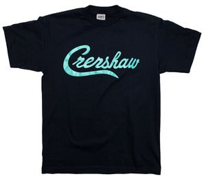 Image of Crenshaw T-Shirt (Navy/Teal)