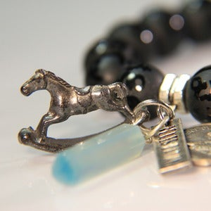 Image of Rocking Horse - Black Onyx