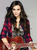 Image of 12x16 Plaid Shirt with Guitar