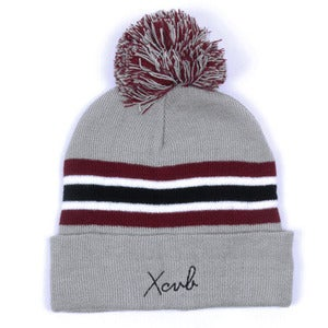 Image of XCVB - 2ONE2 Bobble Hat - Grey