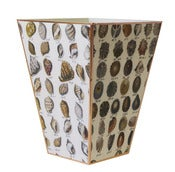Image of Sea Shell Wastebasket