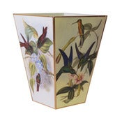 Image of Humming Bird Wastebasket